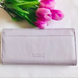 Apt. 9 Women's Light Purple Leather Wallet
